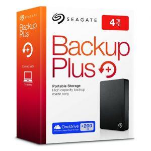 Seagate Backup Plus 4TB Portable USB3.0 Hard Drive